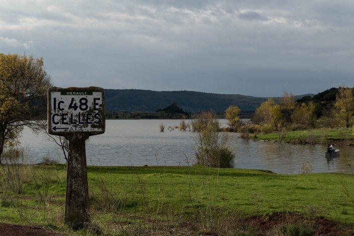 Celles, village abandonné au bord du lac du Salagou - Hérault