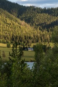 Lower slide lake - Parc national de grand téton - wyoming
