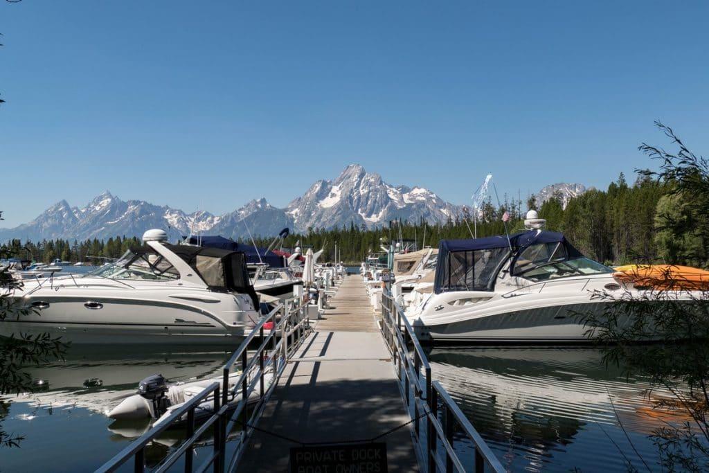 jackson lake - grand téton