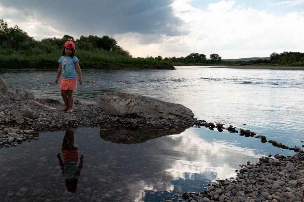 Joujou-sur-la-Madison River