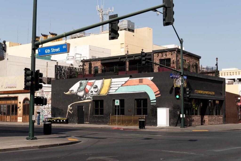 street art dans le downtown de Las Vegas