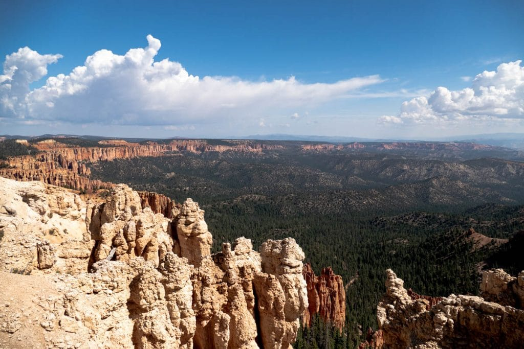 Rainbow point - bryce canyon