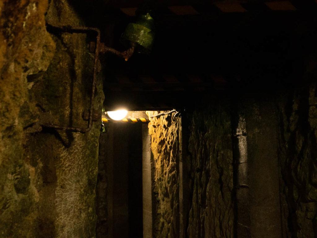 tunnel de la première guerre mondiale à Vimy